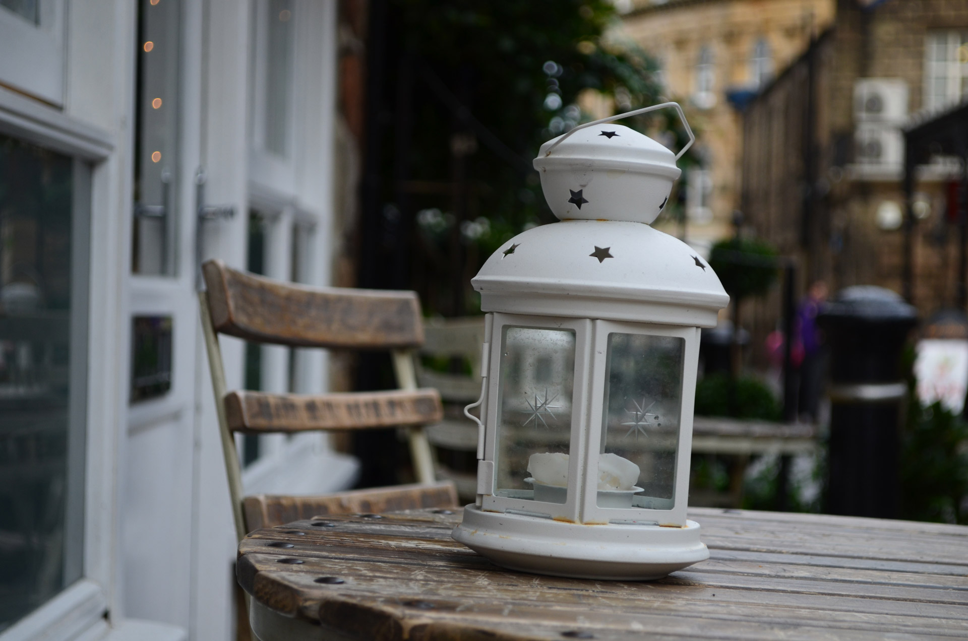 white-lantern-on-the-table