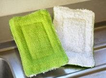 Éponge lavable et compostable